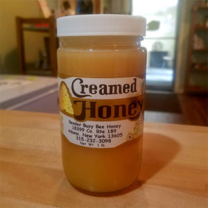 Creamed Honey (Regular) – Bender Busy Bee Honey