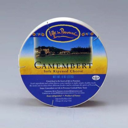 Wheel of Life in Provence Camembert.