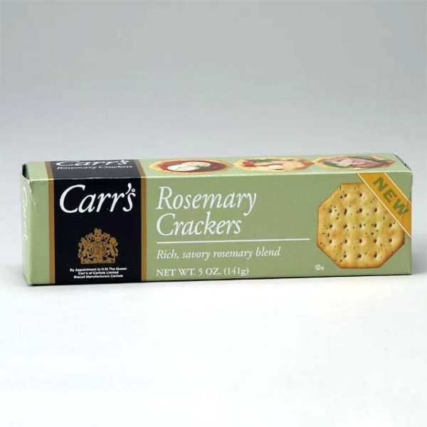 Box of Carr's Rosemary Crackers