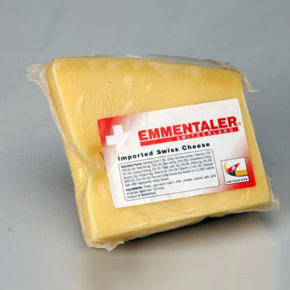 Wedge of Emmentaler.