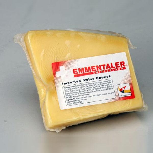 Wedge of Emmentaler.