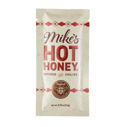 Packet of Mike's Hot Honey.