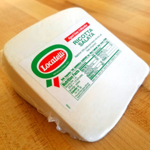 Ricotta Salata (9 oz. avg.) – Locatelli