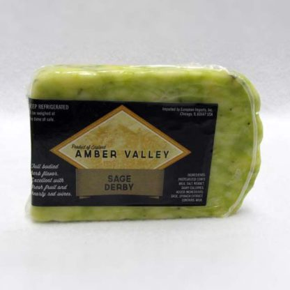 Wedge of Amber Valley Sage Derby.