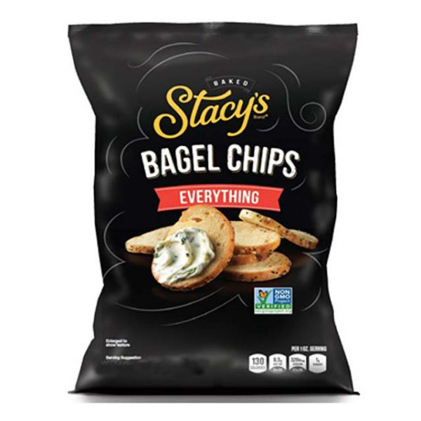 Bag of Stacy's Everything Bagel Chips