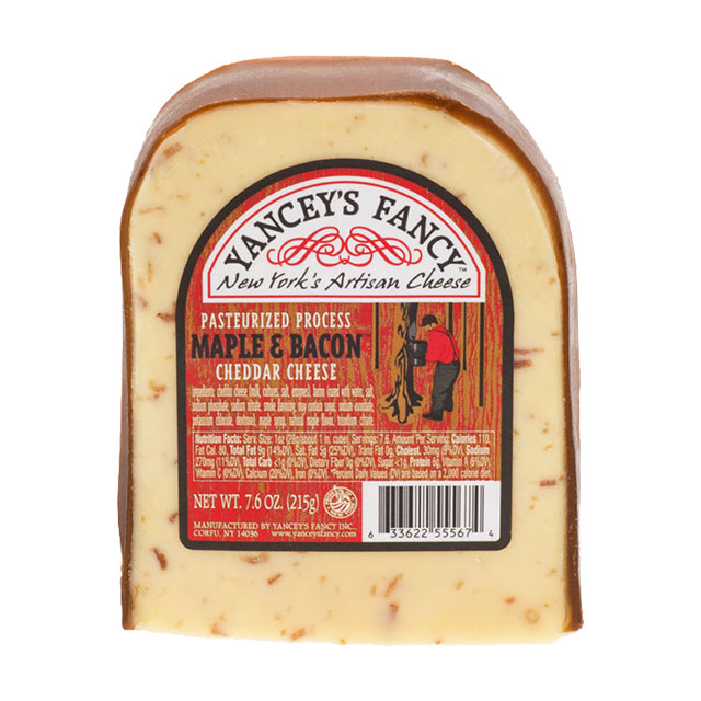 Maple & Bacon Cheddar Cheese – Yancey's Fancy