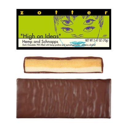 Zotter High on Ideas chocolate bar