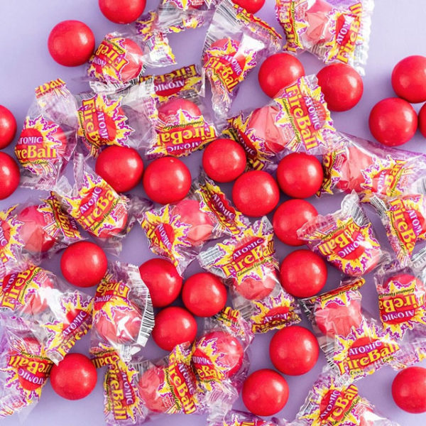 Atomic FireBall candies
