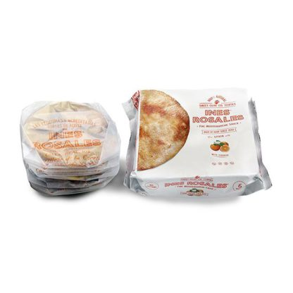 Package of Ines Rosales Orange Sweet Olive Oil Tortas.