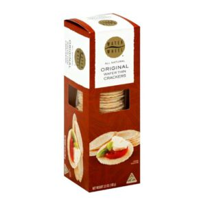 Waterwheel Original Wafer Thin Crackers (3.5 oz.)