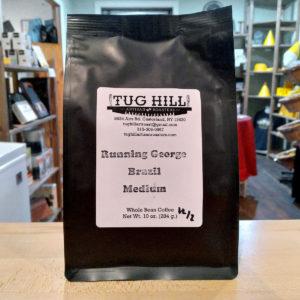 Running George Brazil Medium Coffee (10 oz.) – Tug Hill Artisan Roasters