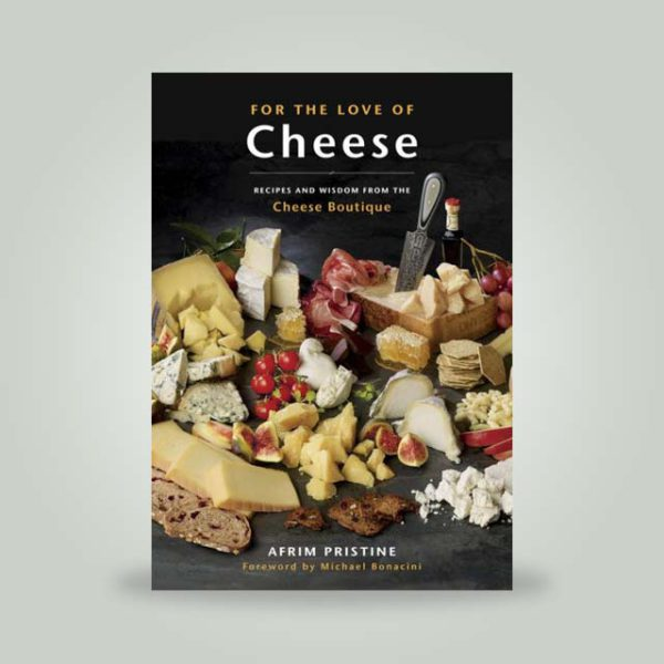 For the Love of Cheese book cover.