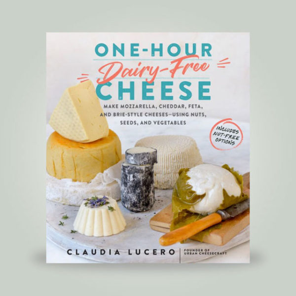One-Hour Dairy Free Cheese book cover.