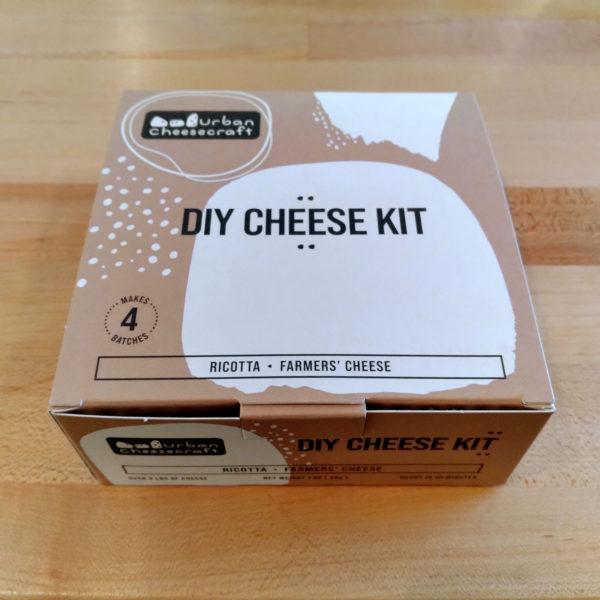 DIY Cheese Starter Kit, closed box.