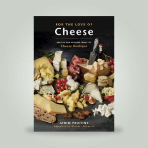 "Book, ""For the Love of Cheese"" by Afrim Pristine"