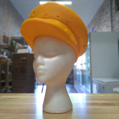 Original CheeseHead foam police hat.