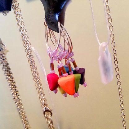 Handmade wine charms by Brie-joux Handmade Jewelry.