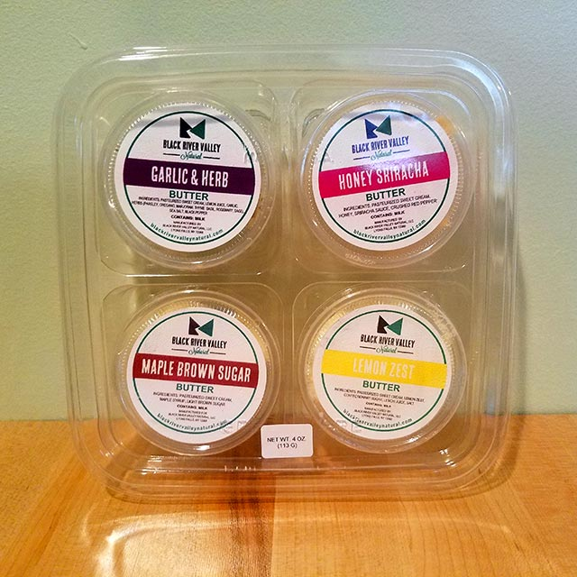4-Pack Butter Sampler – Black River Valley Natural