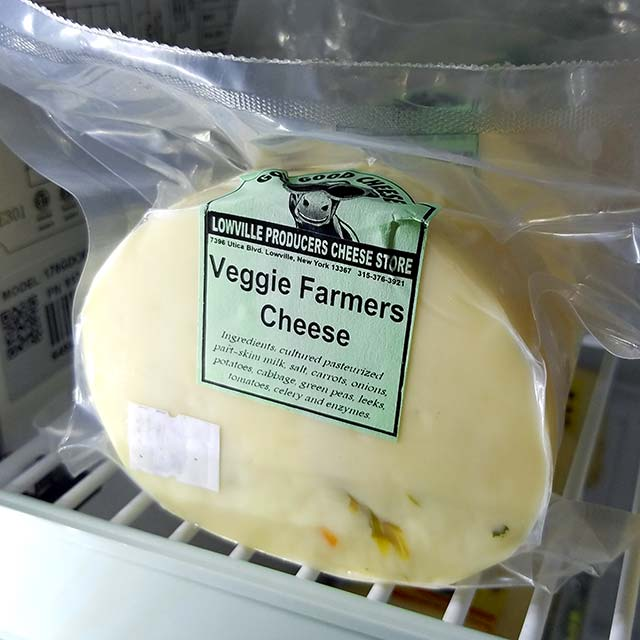 Veggie Farmers Cheese – Lowville Producers Dairy
