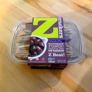 Z Crackers – Kalamata Olive (8 oz.)
