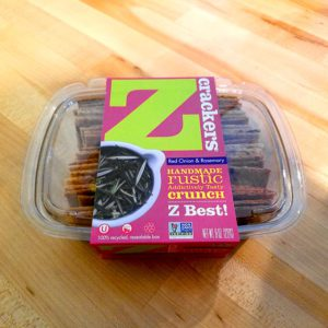 Z Crackers – Red Onion & Rosemary (8 oz.)