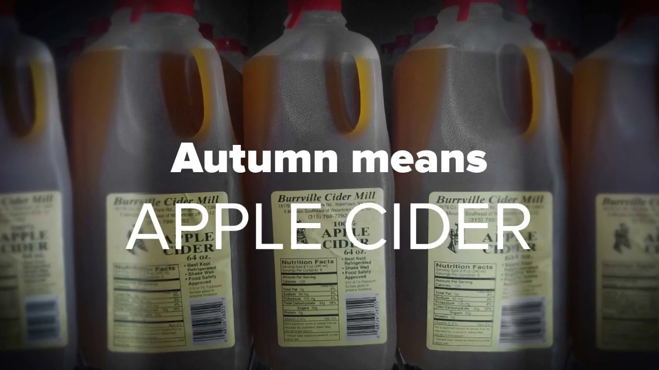 Autmn Means Apple Cider video thumbnail.
