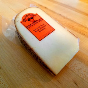 Naturally Wood Smoked Sharp Cheddar (10 oz. avg.) – Lowville Producers Dairy