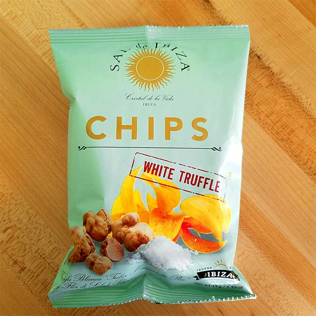 White Truffle Potato Chips (1.59 oz.) – Sal de Ibiza