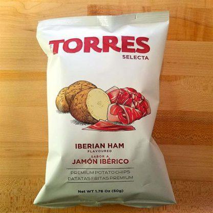 Torres Ibérico Ham Potato Chips