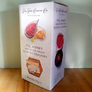 Fig, Honey & Extra Virgin Olive Oil Crackers (4.4 oz.) – The Fine Cheese Co.