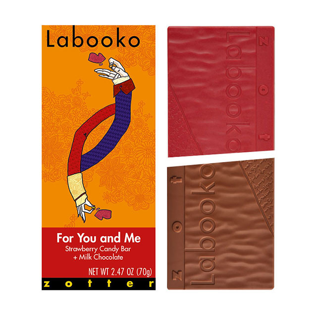 Zotter For You and Me Labookoo Chocolate Bar