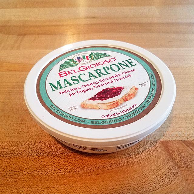Mascarpone (8 oz.) – BelGioioso
