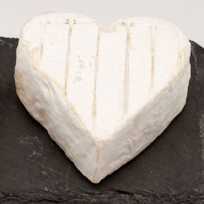 Coeur de Bray Neufchatel cheese out of the box.