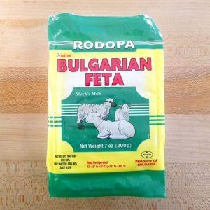 Bulgarian White Cheese Feta (7 oz.) – Rodopa