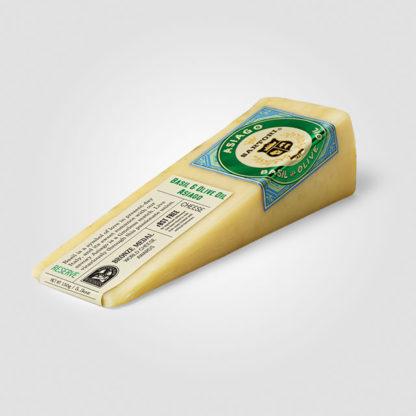 Basil & Olive Oil Asiago (5.3 oz.) - Sartori