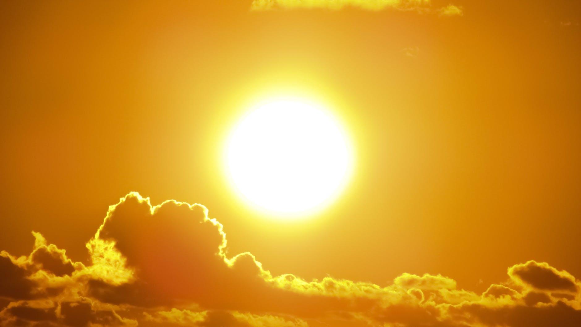 Summer sun.