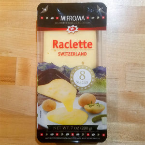 Raclette Cheese from Switzerland (7 oz.) – Mifroma