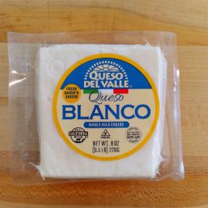 Queso Blanco (8 oz.) – Queso del Valle