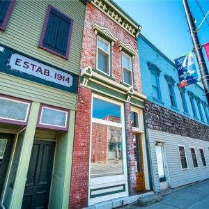 Storefront at 19 Main St., Adams, NY.