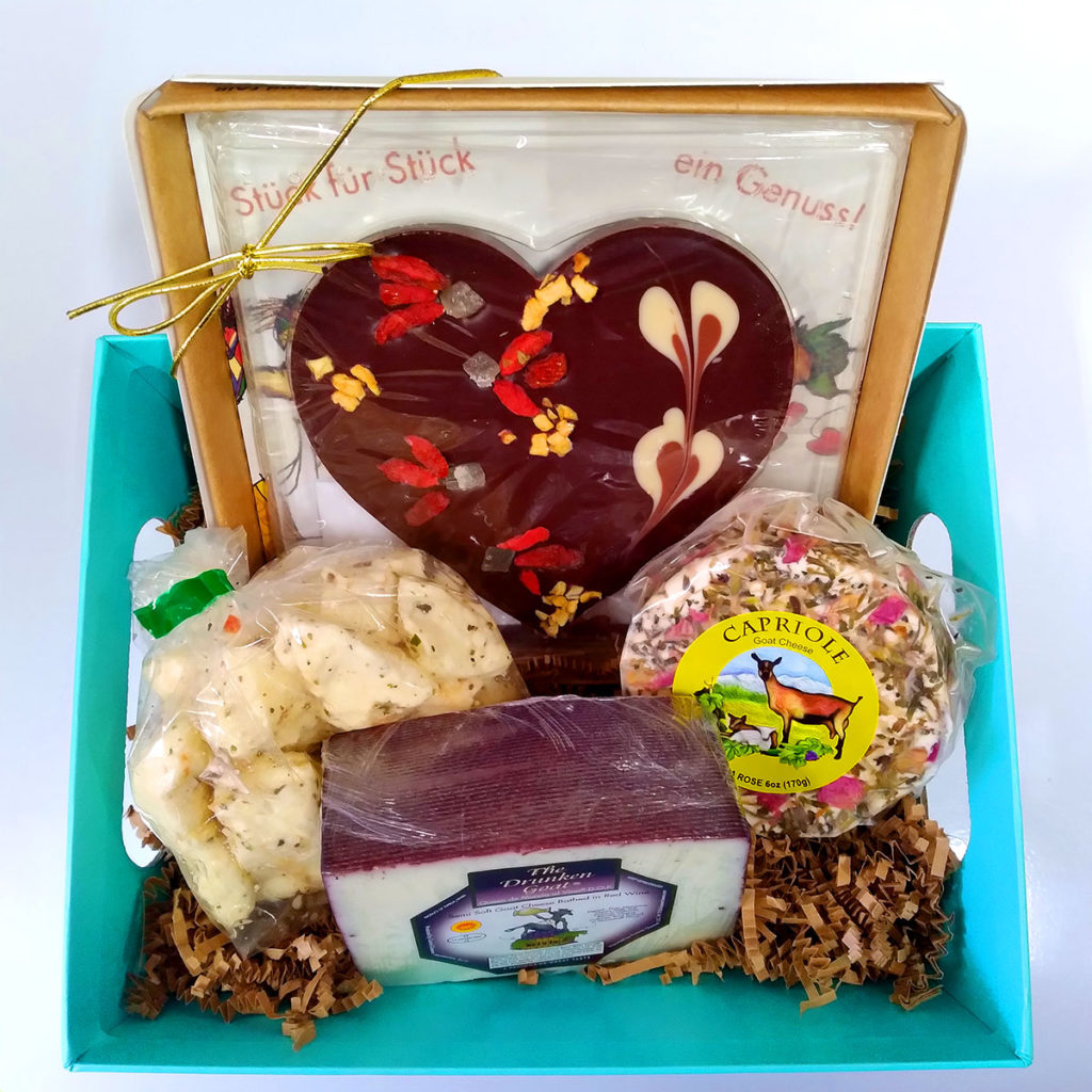 A Mother's Day gift basket.