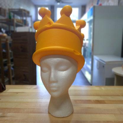 Original CheeseHead foam crown.
