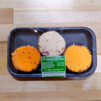 Tailgating Trio Cold Pack Cheese Food Slices (8 oz.) - Original Herkimer County Cheese Co.